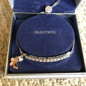 NWT Swarovski Crystal Bracelet by Brilliance